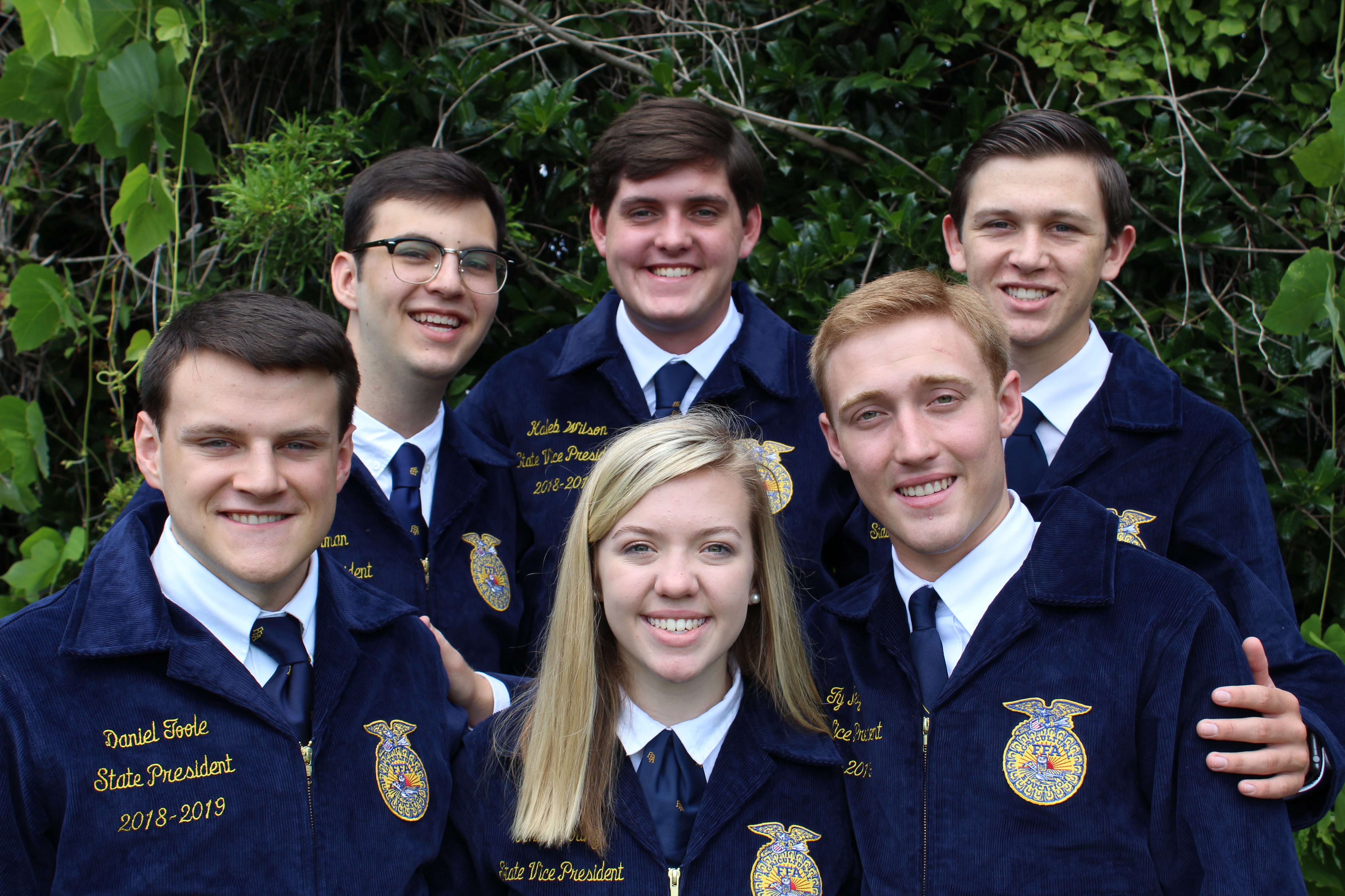 2018-2019 State Officers